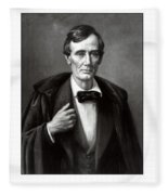 President Lincoln Fleece Blanket