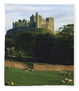 Rock Of Cashel, Co Tipperary, Ireland Fleece Blanket