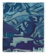 Sanctuaries And Citadels Fleece Blanket