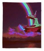 Sci Fi Fleece Blanket