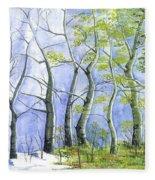 Four Seasons Fleece Blanket