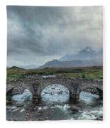 Sligachan - Isle Of Skye Fleece Blanket