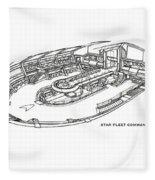 Star Trek Fleece Blanket
