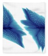 Sturgeon Scales, X-ray Fleece Blanket