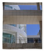 The Getty Fleece Blanket
