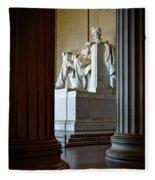 The Lincoln Memorial Fleece Blanket