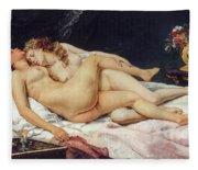 The Sleepers Fleece Blanket