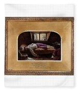 Wallis Henry The Death Of Chatterton2 Henry Wallis Fleece Blanket