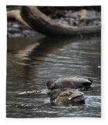 Waterfowl Fleece Blanket