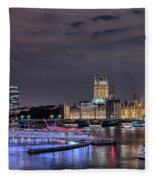 Westminster - London Fleece Blanket