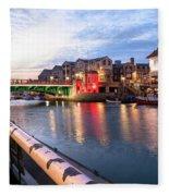 Weymouth - England Fleece Blanket