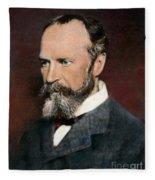 William James, 1842-1910 Fleece Blanket
