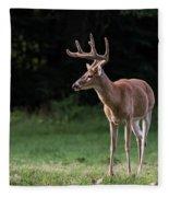 4 X 4 Buck Fleece Blanket