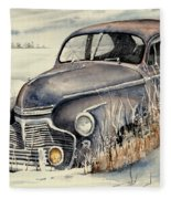 40 Chevy Fleece Blanket