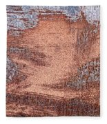 Rusty Metal Fleece Blanket