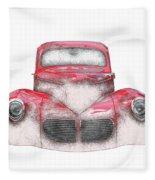 40 Willys Fleece Blanket