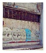 Havana Cuba Fleece Blanket
