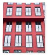 Modern Building Fleece Blanket