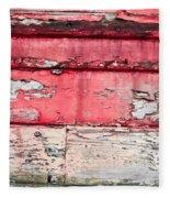 Weathered Wood Fleece Blanket