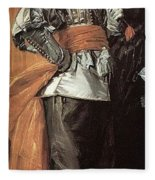 43meagr3 Frans Hals Fleece Blanket