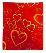 Valentine Fleece Blanket