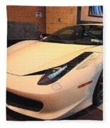 458 Italia Fleece Blanket