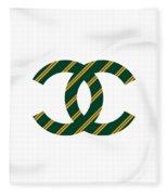 Chanel Style Png Fleece Blanket