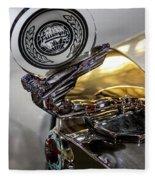 47 Triumph Roadster Fleece Blanket