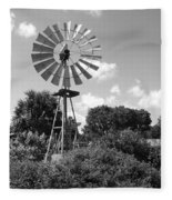 Aermotor Windmill Fleece Blanket