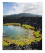 Ahihi Kinau Natural Reserve Fleece Blanket