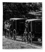 Amish Country Fleece Blanket