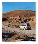 Bolivia Fleece Blanket