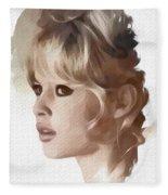 Brigitte Bardot, Actress Fleece Blanket