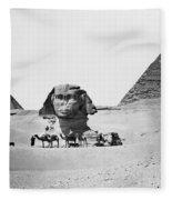 Egypt: Great Sphinx Fleece Blanket
