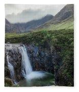 Fairy Pools - Isle Of Skye Fleece Blanket