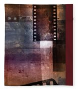 Film Strips 3 Fleece Blanket