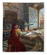 Galileo Galilei, 1564-1642 Fleece Blanket