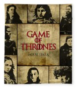 Game Of Thrones. House Stark. Fleece Blanket