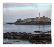 Godrevy Lighthouse - England Fleece Blanket