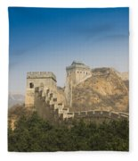 Great Wall Of China - Jinshanling Fleece Blanket