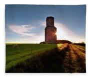 Horton Tower - England Fleece Blanket