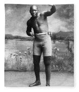 Jack Johnson (1878-1946) Fleece Blanket