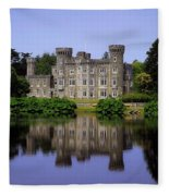 Johnstown Castle, Co Wexford, Ireland Fleece Blanket