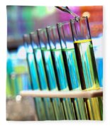 Laboratory Experiment In Science Research Lab Fleece Blanket