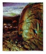Marble Cave Crimea Fleece Blanket