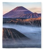 Mount Bromo - Java Fleece Blanket
