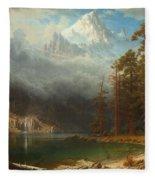 Mount Corcoran Fleece Blanket