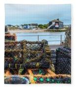 Mudeford - England Fleece Blanket