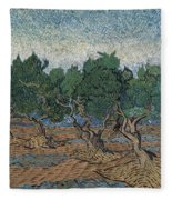 Olive Grove Fleece Blanket