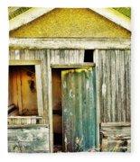 One Country Farmhouse Fleece Blanket